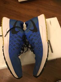 Size 10.5/ Pair of blue-and-white nike sneakers Houston, 77034