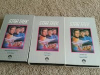Three Star Trek VHS collectable movies Eldersburg