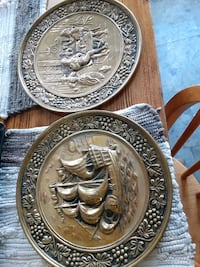 antique decorative platters Made in England  Greeneville, 37745