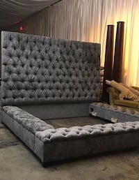 King size luxury bed