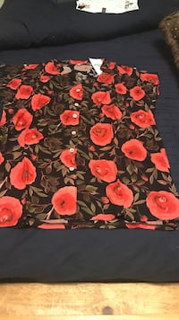 red and black floral textile Richmond Hill, L4E 0P5