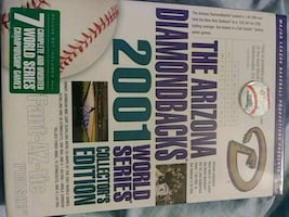 The ARIZONA Diamindsbacks 2001 world series