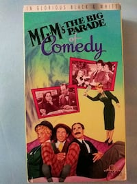 MGM's The Big Parade of Comedy vhs Glen Burnie