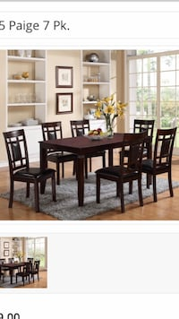 Paige Dining Set New In Box!!