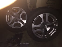 Set of 4 Tires 16's with Rims