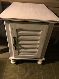 Beautiful Painted and Distressed Cabinet/Table Foley