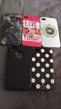 Iphone 4/4s phone case lot London, N6K