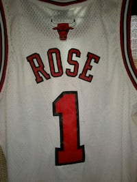 white and red Chicago Bulls 23 jersey Chicago, 60629