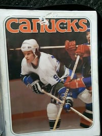 Signes canucks program 1978 Vancouver, V5M 3Z4
