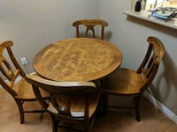 Table & 4 Chairs New Westminster, V3M 0A3