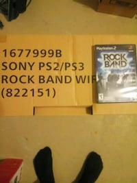 PS2/PS3 Rockband Guitar and Drums *UNOPENED*