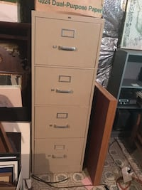 4 drawer metal file cabinet Silver Spring, 20906