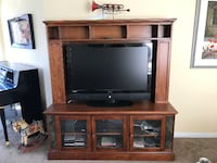 Solid wood TV Stand/Entertainment unit - on hold Victoria