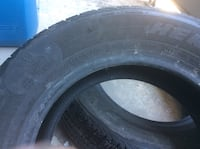 black auto wheel with tire Brampton, L6W 2L3