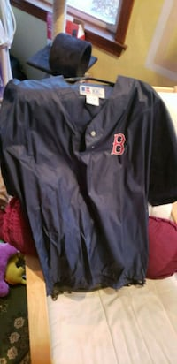 Red Sox XXL rain proof pull over jersey Chelmsford, 01824