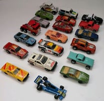 Vintage 1970's-1990's Assorted Matchbox and Hot Wheels Cars and Others