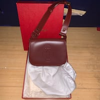Cartier purse (vintage) comes with all verification Sterling, 20165