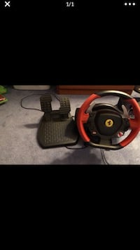 Ferrari xbox one driving wheel with pedals Owings Mills, 21117