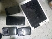 Broken and used phones iPods and ipads for parts  Vancouver, V6B 1G4
