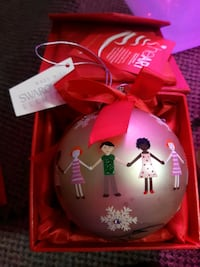 Xmas ornaments Swarovski elements