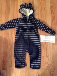 18-24 months fleece suit  Woodbridge, 22193