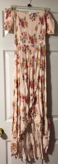 white, red and yellow floral maxi dress Pasadena, 21122