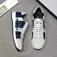 Gucci leather sneakers size 9 Montreal