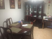 Dining table and china cabinet. Edmonton, T5Y 2W3