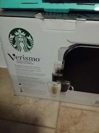black Verismo espresso machine box Surrey, V3W
