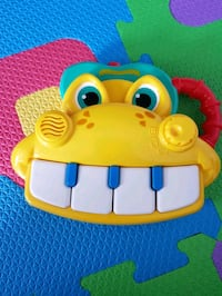 Small musical piano Infant toy  Markham