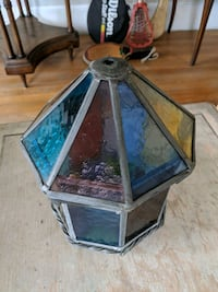 Stained Glass Light Fixture Cover Tuckahoe, 10707