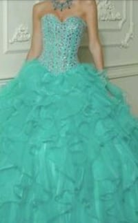 Turquoise Ball Gown Toronto, M3J 1P9