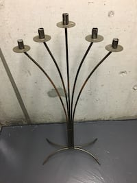 Wrought iron candle holder Mississauga, L4X 2G6
