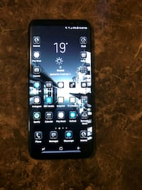 black Samsung Galaxy android smartphone Victoria, V9A 4N9