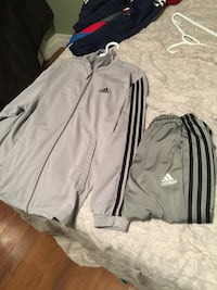 Grey and black adidas tracksuit Ajax, L1S 2A9