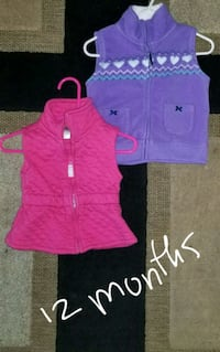 women's pink zip-up vest 52 km