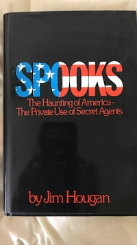 Spooks by Jim Hougan book Olney, 20832