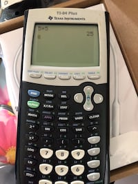 black and gray Texas Instruments TI-84 Plus Oxon Hill, 20745