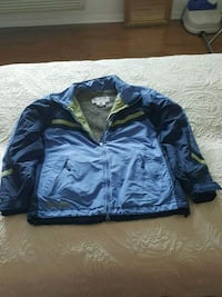 Blue and Blue Light  zip-up Jacket Sterling