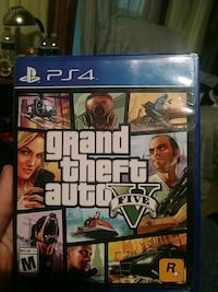 Grand Theft Auto Five PS4 game case Newburgh, 47630