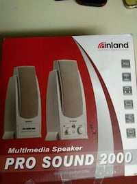 Inland pro sound 2000 speakers Mesa, 85202