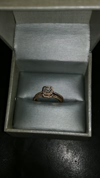 14k. Diamond wedding set.  Size 10. New London