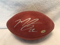 Matt forte signed on authentic football w/COA Schaumburg, 60194