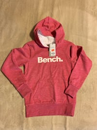 Bench pink hoodie Size 11/12 kids Newmarket
