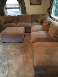 Microfiber couch New Rochelle