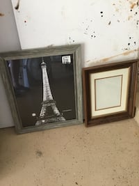 Two brown wooden framed mirrors San Antonio, 78247