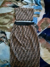 2 PIECE TUBE TOP AND HIGHWAIST PENCIL SKIRT Dallas