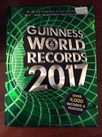 Guinness World Records 2017 Book Wilmington, 19808