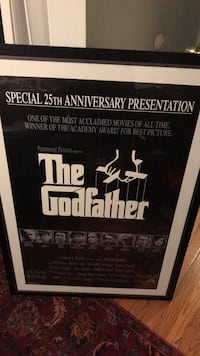 Godfather picture framed 28x40 Vienna, 22180
