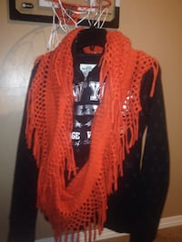 Orange knitted scarf Calgary, T3J 1A8